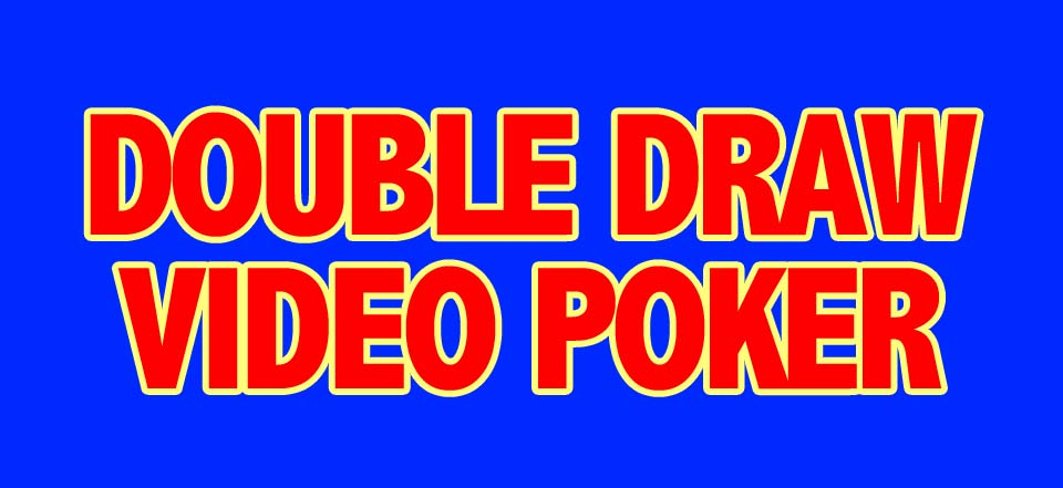 ClearVision Apps: Double Draw Video Poker