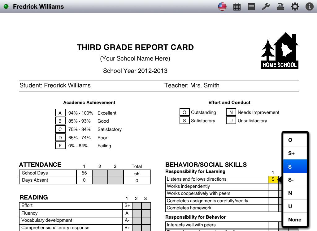 free report card maker - Khafre