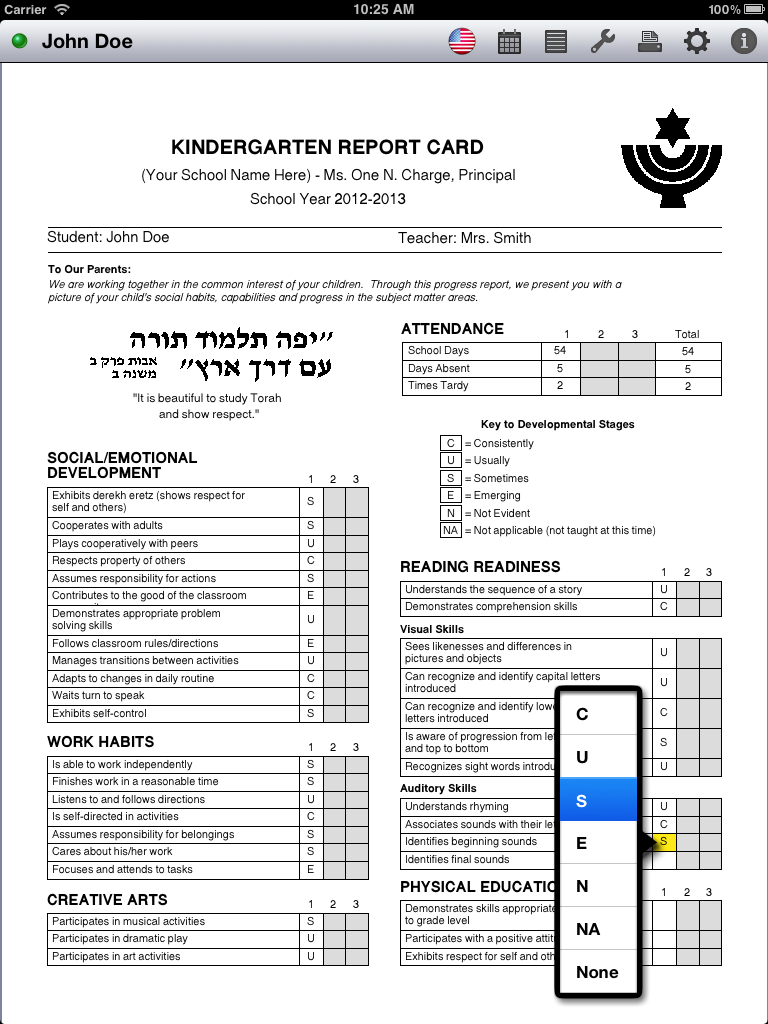 ClearVision Apps: Report Card Maker